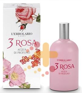 L'Erbolario Linea 3 Rosa Addolcente Rinfrescante Acqua di Profumo 100 ml