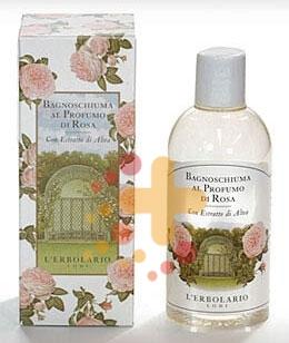 L'Erbolario Linea Profumo di Rosa Preziosa ed Elegante Bagnoschiuma 250 ml
