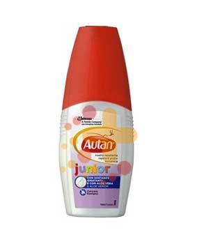 Autan Linea Junior Vapo Spray Delicato Insetto-Repellente 100 ml