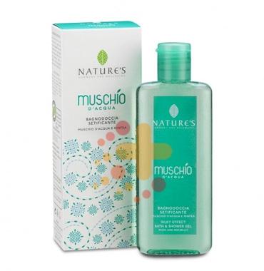 Nature's Linea Muschio D'acqua Fresca e Fiorita Bagnodoccia Setificante 200 ml