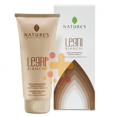 Nature's Linea Legni Bianchi Rilassante Doccia Shampoo Delicato Corpo 200 ml