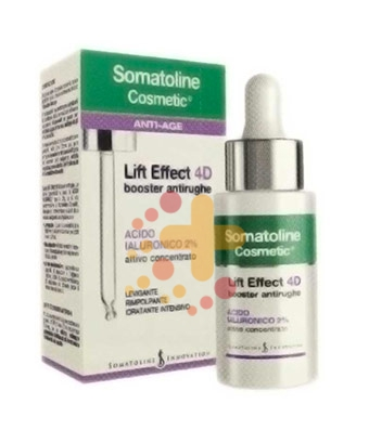 Somatoline Cosmetic Linea Lift Effect 4D Booster Antirughe Intensivo Viso 30 ml