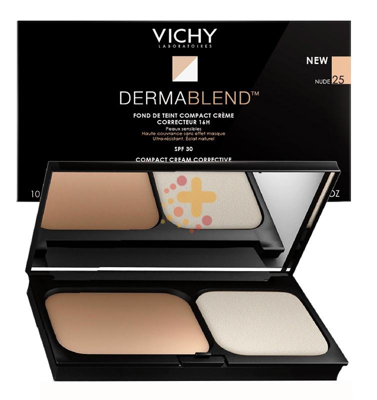 Vichy Make-up Linea Dermablend Fondotinta Correttore Compatto Crema 45