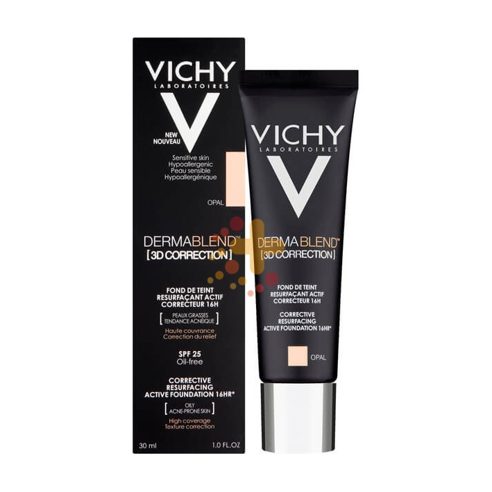 Vichy Make-up Linea Dermablend 3D Correction Fondotinta Elevata Coprenza 30