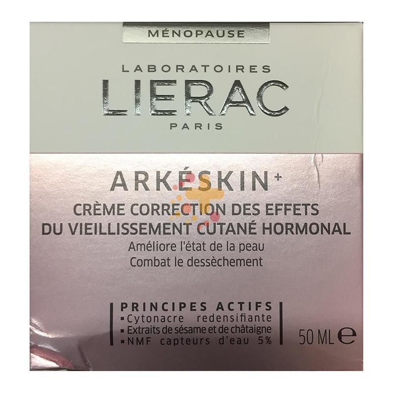 Lierac Linea Arkeskin+ Crema Correttiva contro Invecchiamento Ormonale 50 ml